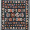 Safavieh Farmhouse Collection FMH822N Area Rug 9 X 12 NavyOrange 0 100x100
