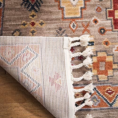 Safavieh Farmhouse Collection FMH848E Area Rug 9 X 12 TaupeOrange 0 0
