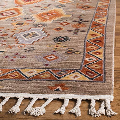 Safavieh Farmhouse Collection FMH848E Area Rug 9 X 12 TaupeOrange 0 1