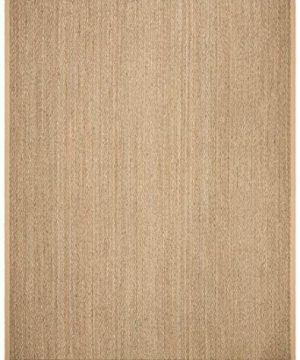 Safavieh Natural Fiber Collection NF115A Herringbone Natural And Beige Seagrass Area Rug 9 X 12 0 0 300x360