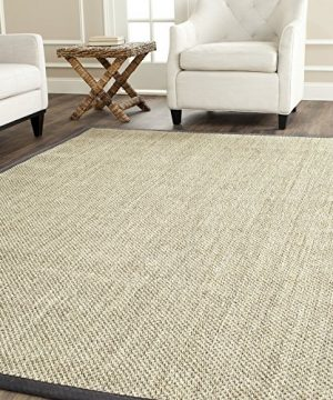 Safavieh Natural Fiber Collection NF443B Tiger Eye Marble And Grey Sisal Area Rug 9 X 12 0 300x360