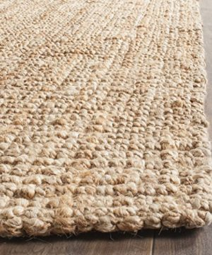 Safavieh Natural Fiber Collection NF447A Hand Woven Chunky Textured Jute Area Rug 9 X 12 0 1 300x360