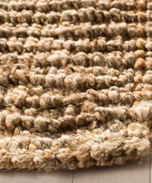 Safavieh Natural Fiber Collection NF447A Hand Woven Chunky Textured Jute Area Rug 9 X 12 0 2 300x360