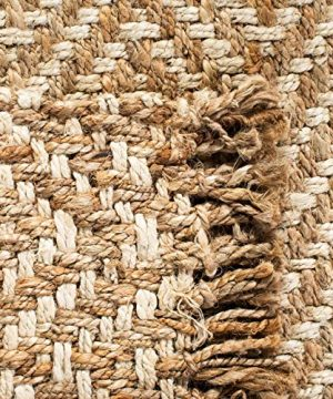 Safavieh Natural Fiber Collection NF458A Hand Woven Bleach And Natural Jute Area Rug 9 X 12 0 4 300x360