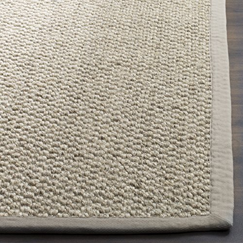 Safavieh Natural Fiber Collection NF525C Marble Sisal Area Rug 9 X 12 0 1
