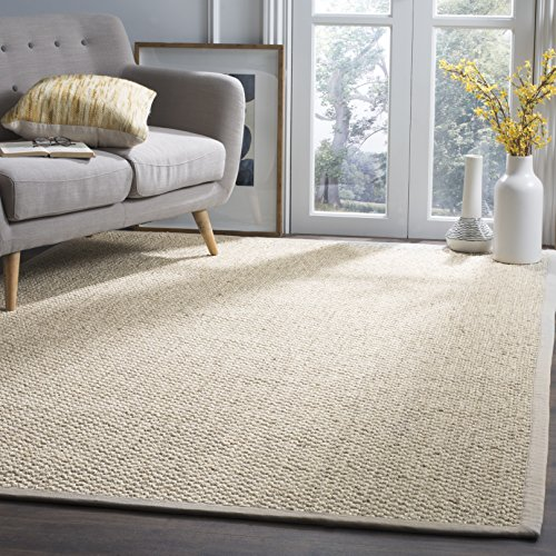 Safavieh Natural Fiber Collection NF525C Marble Sisal Area Rug 9 X 12 0