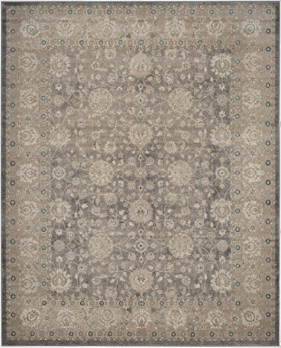 Safavieh Sofia Collection SOF330B Vintage Light Grey And Beige Distressed Area Rug 9 X 12 0 0