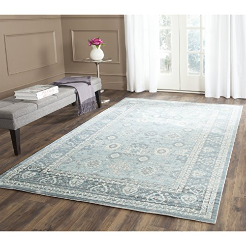 Safavieh Valencia Collection VAL110B Alpine And Multi Vintage Distressed Silky Polyester Area Rug 9 X 12 0 2