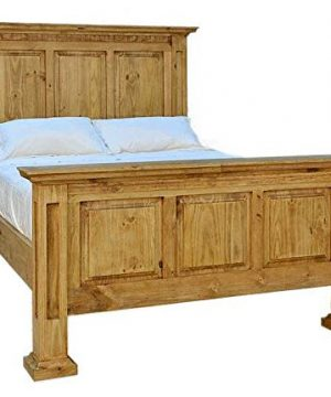 Santa Rita Mansion Rustic Bed Frame Queen Size 0 300x360