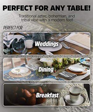 SnugLife Macrame Table Runner 86 X 13 Long Boho Table Runner Wedding Table Decor Vintage Farmhouse And Bohemian Dining Room Style Off White 0 5 300x360