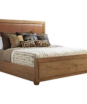Tommy Bahama Los Altos Antilles Upholstered King Panel Bed In Natural 0 300x360