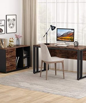 Tribesigns L Shaped Computer Desk 55 Inch Large Executive