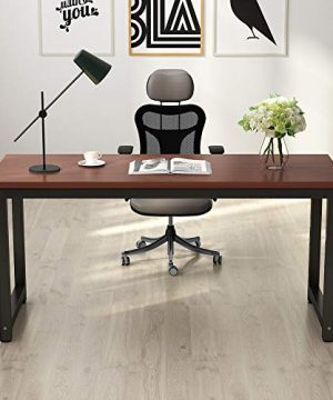 Tribesigns Modern Computer Desk 63 Inches Large Office Desk Computer Table Study Writing Desk For Home Office Solid Metal Frame 0 300x360
