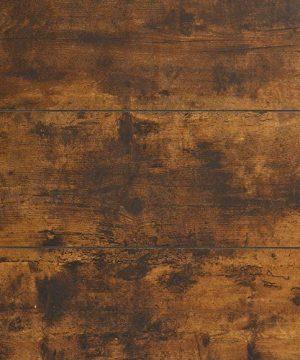 Walker Edison Industrial Plank Metal King Size Headboard Footboard Bed Frame Bedroom Brown Reclaimed Wood 0 5 300x360