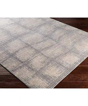 Wicomico Updated Farmhouse 9 X 124 Rectangle Modern 55 Polyester45 Polypropylene KhakiMedium GrayTaupeCream Area Rug 0 1 300x360