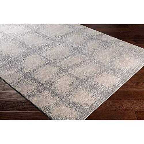 Wicomico Updated Farmhouse 9 X 124 Rectangle Modern 55 Polyester45 Polypropylene KhakiMedium GrayTaupeCream Area Rug 0 1