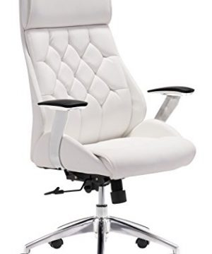 Zuo Boutique Office Chair White 0 300x360