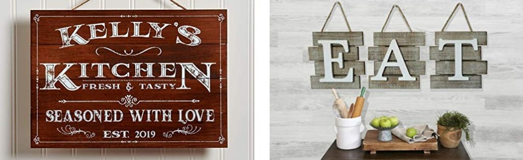 farmhouse kitchen wall decor