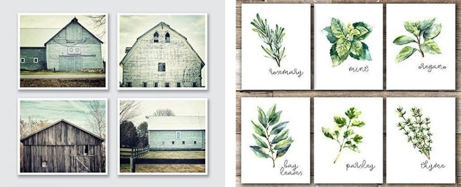 farmhouse prints