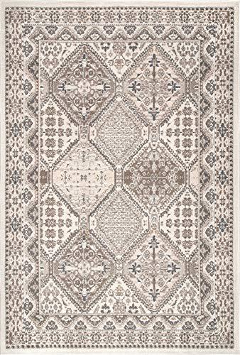 NuLOOM Becca Vintage Tile Area Rug 9 X 12 Beige 0 0
