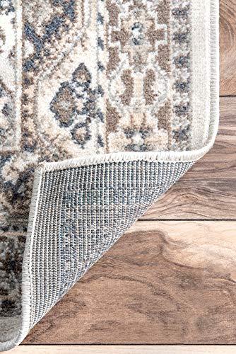 NuLOOM Becca Vintage Tile Area Rug 9 X 12 Beige 0 3