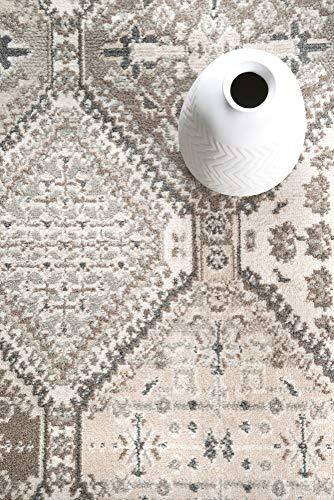 NuLOOM Becca Vintage Tile Area Rug 9 X 12 Beige 0 4