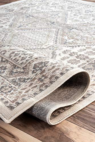 NuLOOM Becca Vintage Tile Area Rug 9 X 12 Beige 0 5
