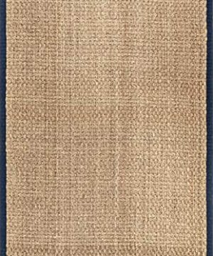 NuLOOM Hesse Seagrass Solid Outdoor Area Rug 9 X 12 Navy 0 5 300x360