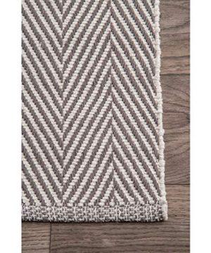 NuLOOM Kimberely Hand Loomed Area Rug 9 X 12 Grey 0 2 300x360