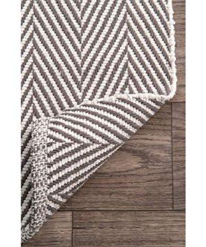 NuLOOM Kimberely Hand Loomed Area Rug 9 X 12 Grey 0 3 300x360