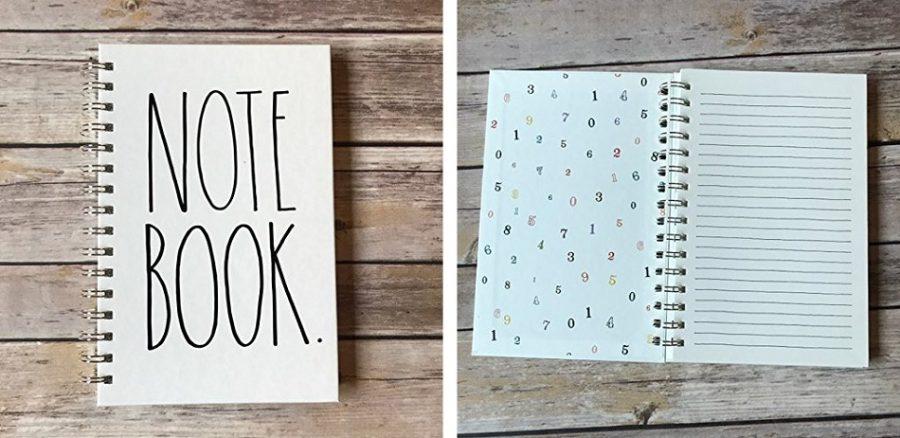 rae dunn notebooks notepads