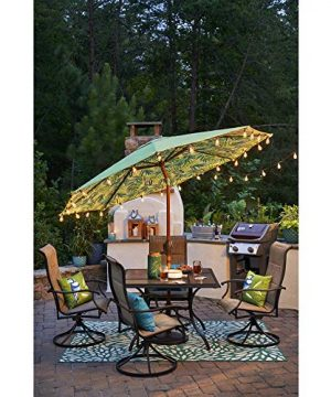 25Ft Outdoor Edison Bulb String Lights With 27 Edison ST35 Bulbs Plus 2 Extra Bulbs UL Listed For IndoorOutdoor Decor Perfect For Patio Garden Backyard Porches Bistro Party Black Wire 0 3 300x360