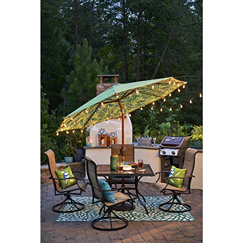 25Ft Outdoor Edison Bulb String Lights With 27 Edison ST35 Bulbs Plus 2 Extra Bulbs UL Listed For IndoorOutdoor Decor Perfect For Patio Garden Backyard Porches Bistro Party Black Wire 0 3