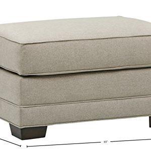 Amazon Brand Stone Beam Dalton Performance Fabric Ottoman 33W Stone 0 1 300x310