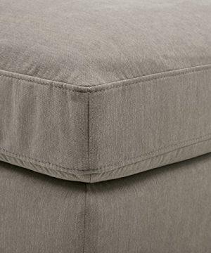 Amazon Brand Stone Beam Lauren Down Filled Oversized Ottoman With Hardwood Frame 465W Slate 0 0 300x360