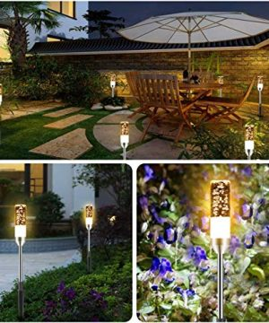 B Right Path Lights Outdoor 6 Pcs LED Pathway Lights Acrylic Bubble 12V Low Voltage Landscape Lighting Plug In Extendable Waterproof Garden Lights 360 Lumens For Patio Yard Lawn 2700K 0 1 300x360