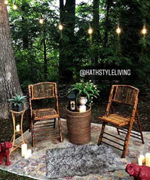 Brightech Ambience Pro Waterproof Outdoor String Lights Hanging Industrial 11W Edison Bulbs 48 Ft Vintage Bistro Lights Create Great Ambience In Your Backyard Gazebo 0 2 300x360