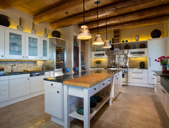 Contemporary Rustic Home in Santa Fe by Samuel Design Group