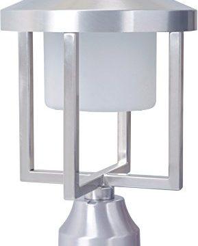 Craftmade Z9215 SA LED Alta Outdoor LED Post Mount Satin Aluminum 1 Light 8W X 13H 9 Watts 0 289x360