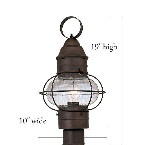 Designers Fountain 1766 RT Nantucket Post Lanterns Rustique 0 1