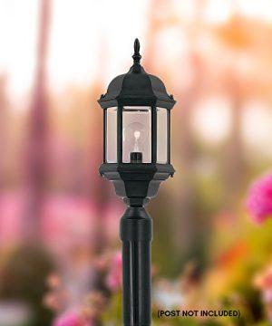 Designers-Fountain-2976-BK-Devonshire-Outdoor-Post-Lanterns-20-inch-Black-0-0