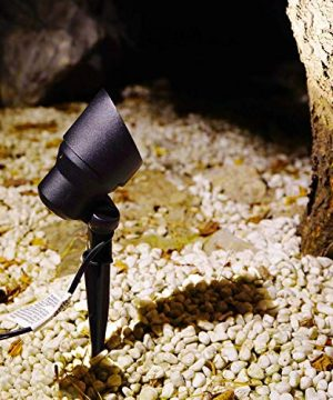 GOODSMANN Landscape Lighting Flood Light 6W LED Low Voltage Garden Light With Metal Spike Stand 145 Lumens 9920 2604 01 0 0 300x360