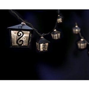 Gemmy Metal Lanterns Mini String Lights 40114 0 0 300x360