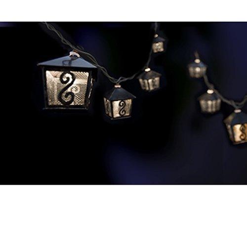 Gemmy Metal Lanterns Mini String Lights 40114 0 0