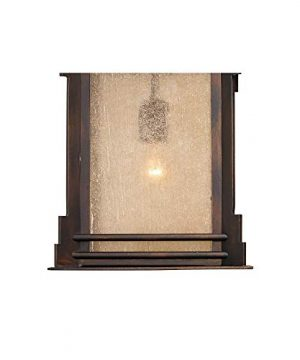 Hickory Point Rustic Farmhouse Outdoor Wall Light Fixture Walnut Bronze 19 Lantern Frosted Cream Glass For Exterior House Porch Patio Deck Garage Franklin Iron Works 0 1 300x360