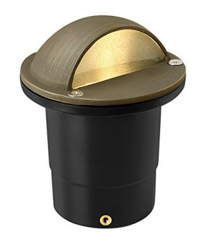 Hinkley Lighting Eyebrow Well Light Eyebrow In Ground Light That Highlights Important Landscape Features And Increases Home Security Matte Bronze Finish Hardy Island Collection 16707MZ 0 300x360