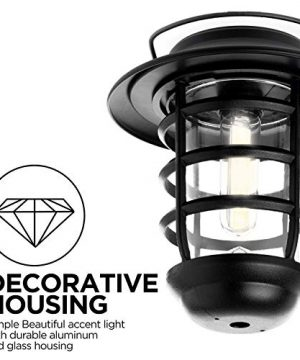 Home Zone Security Solar Wall Lantern Lights Outdoor 3000K Decorative Lantern Lights With No Wiring Required 2 Pack 0 3 300x360