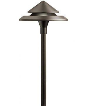 Kichler 3 Watt Olde Bronze Low Voltage LED Path Light 0 300x360
