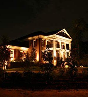 LED Landscape Lighting Malibu 8419 4321 01 Low Voltage Aged Iron Finish Square Metal Bollard Light 06watt 0 4 300x333
