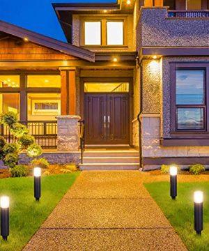 LNDXING Landscape Lights 12V 3W Low Voltage Outdoor Landscape Lights Lighting 4 Pack IP65 Waterproof 3000K Warm White Pathway Garden Yard Patio Lamp 0 0 300x360